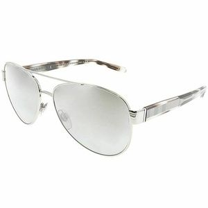 Burberry Aviator Style Grey Gradient Mirrored Lens